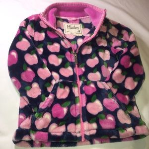 3/$25 Hatley Coat Girls Fleece Zip Jacket Size: 4